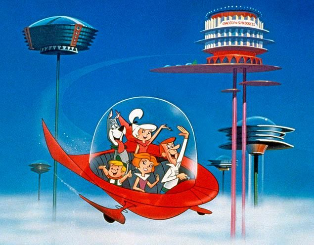 The Jetsons Flying Cars
